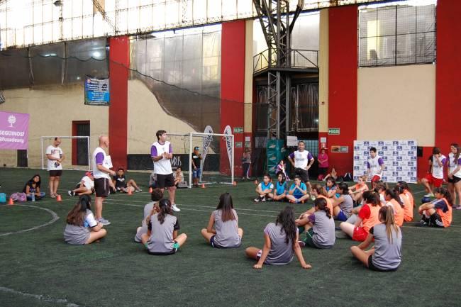 FuSaDE realizó la primera Academia de Fútbol Femenino en Argentina
