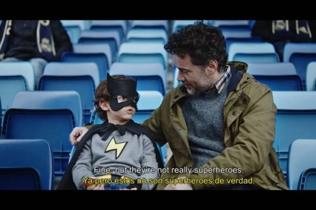 """Audi y Real Madrid presentan """"Superhéroes"""""""