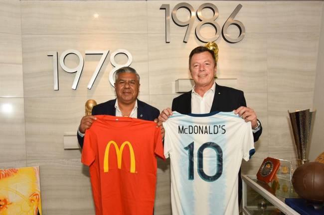 AFA presenta a McDonald's como nuevo sponsor de la selección argentina
