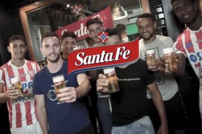 Unión de Santa fe presentó a sus refuerzos en una fábrica de cerveza