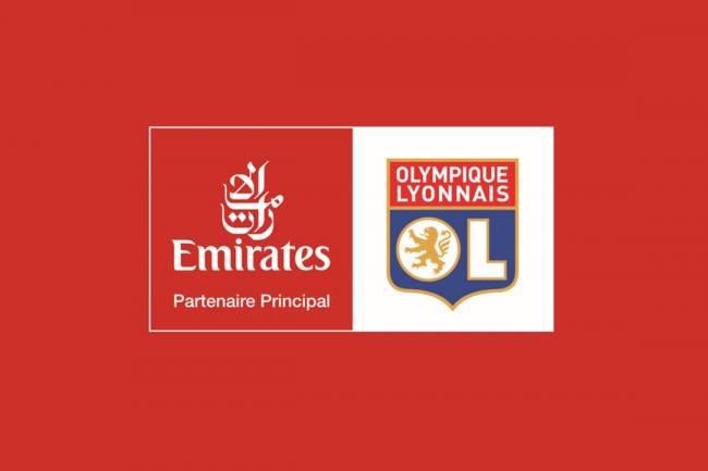 Emirates aterriza en Olympique de Lyon