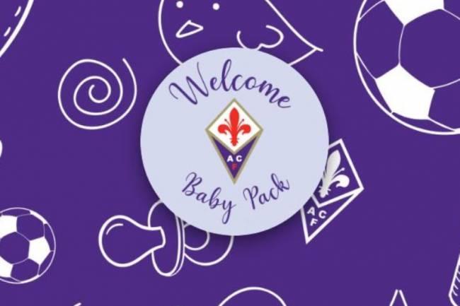 Fiorentina homenajea a los recién nacidos en Florencia