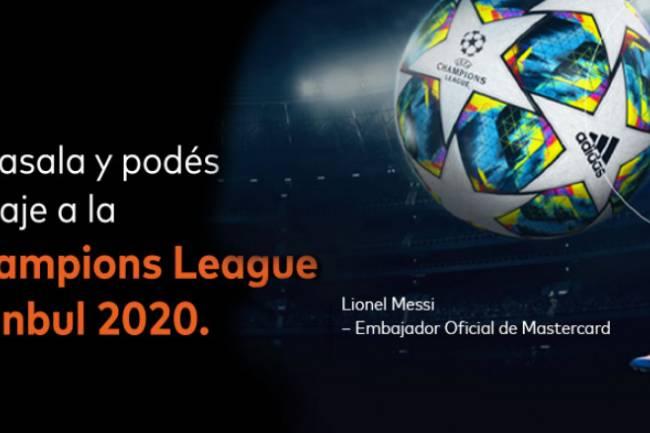 Mastercard y Supervielle te llevan a la UEFA Champions League