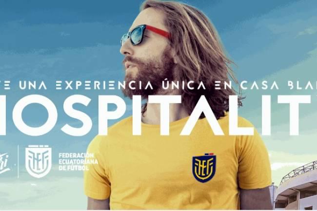 """La Federación Ecuatoriana de Fútbol presenta la campaña """"Hinchennial"""""""