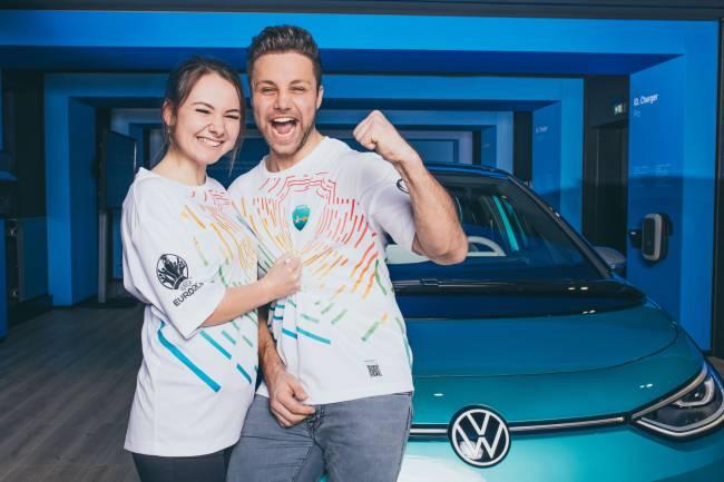 Volkswagen busca imponer la movilidad sostenible en la Euro 2020