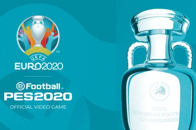 eFootball PES adquiere los derechos de la Euro2020