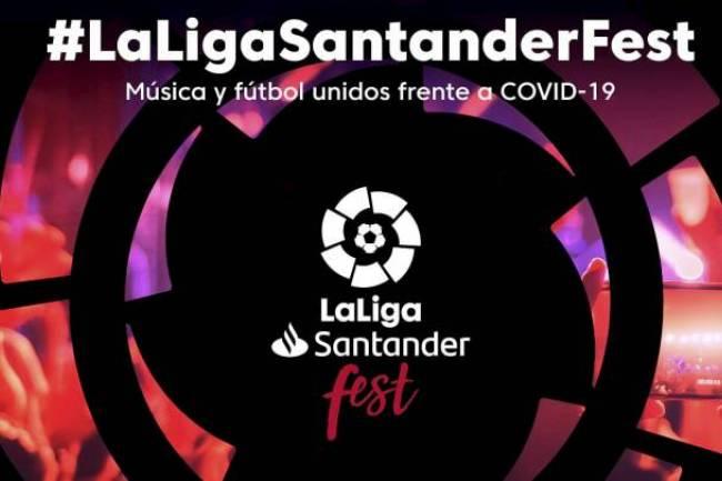 LaLiga unirá música y deporte en la lucha contra el Coronavirus