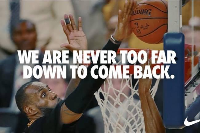 """Nike presentó un nuevo asset de su campaña """"You Can't Stop Us"""""""