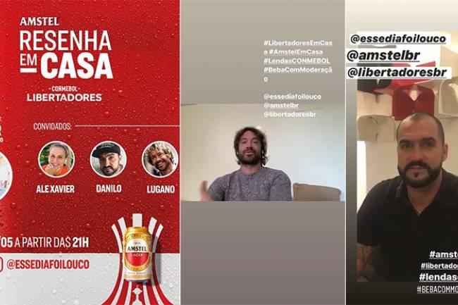 Segunda activación de AMSTEl con CONMEBOL Copa Libertadores