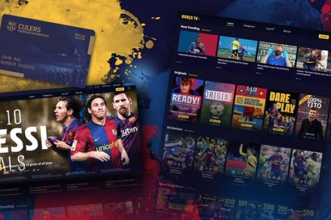 "Barcelona presentó su plataforma de streaming digital ""Barça TV+"""