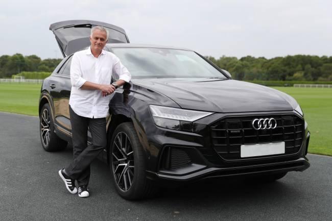 Mourinho, nuevo embajador de Audi