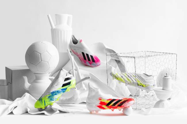 Adidas lanza UNIFORIA, un nuevo y peculiar pack de botines