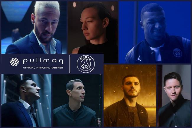 PSG se suma a la nueva campaña Global de Pullman Hotels & Resorts