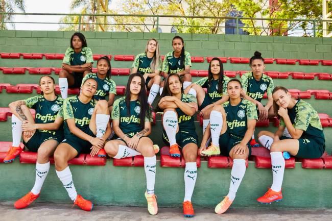 Acuerdo histórico entre Puma y el equipo femenino de Palmeiras