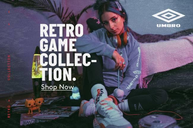 "Umbro presenta su segunda ""Retro Collection"""
