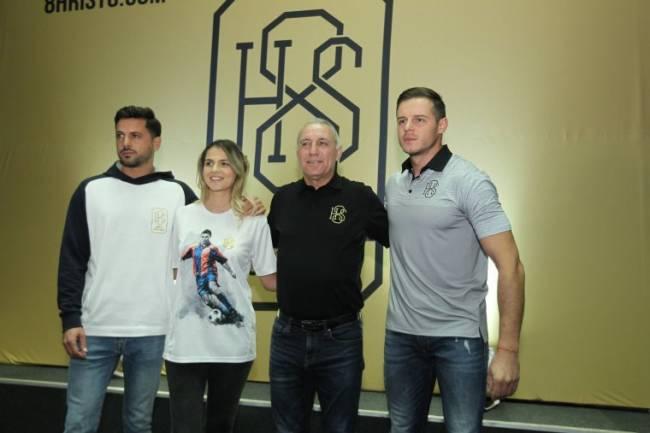 Hristo Stoichkov presentó su marca H8S