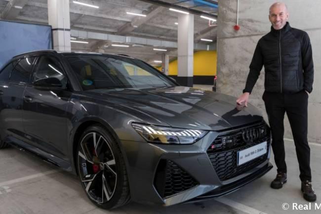 El Real Madrid tiene su nuevo Audi