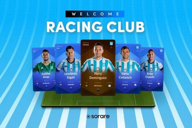 Racing desembarca en el Global Fantasy Football Sorare
