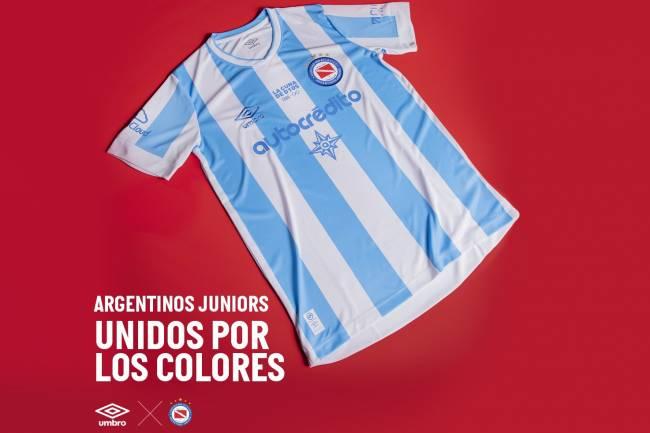 Umbro presenta la nueva camiseta de Argentina Juniors