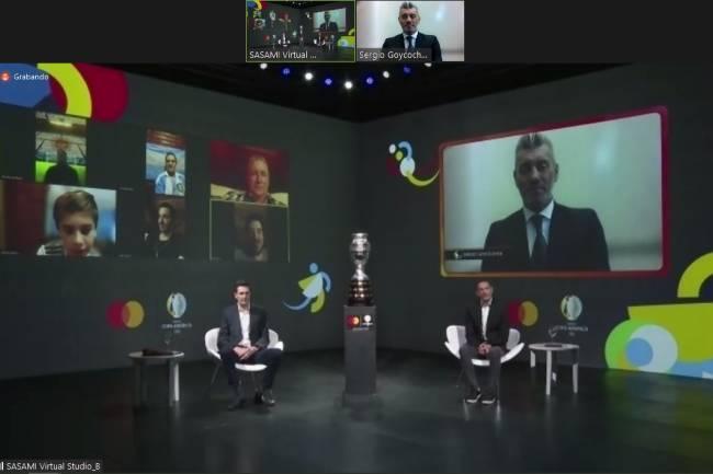 Sergio Goycochea, protagonista de un evento Priceless de Mastercard Argentina