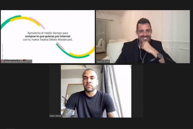 Dani Alves analizó la CONMEBOL Copa América junto a Mastercard y Bancolombia