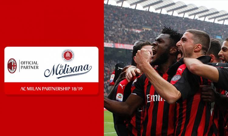 AC Milan suma a La Molisana como nuevo patrocinador