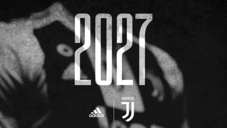 Adidas renueva con Juventus hasta 2027