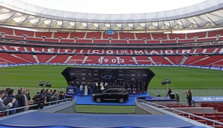 Hyundai activa su patrocinio con Atlético de Madrid