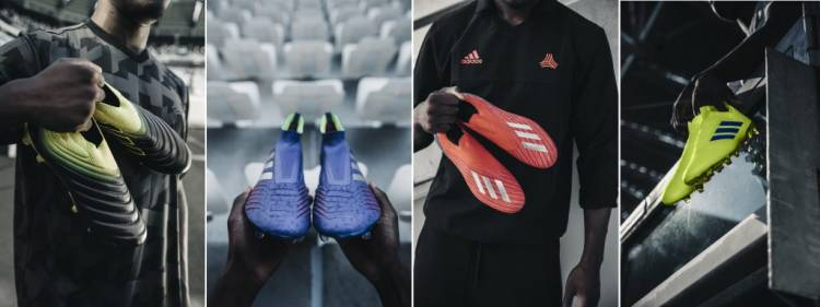 b76d8787d Adidas launches the new Exhibit pack of Copa, Predator, X18 and Nemeziz  booties