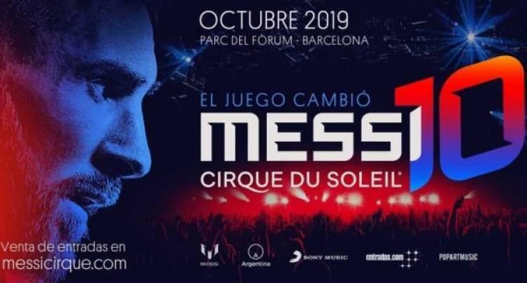 """El Cirque Du Soleil anunció la fecha de estreno de """"Messi 10"""""""