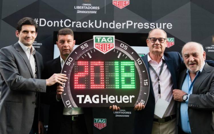 TAG Heuer nuevo patrocinador de la Copa Libertadores