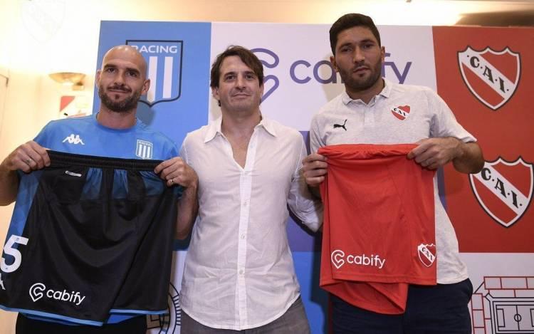 Cabify, nuevo sponsor de Independiente y Racing