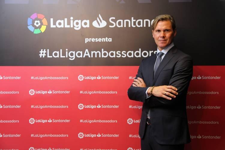 LaLiga presentó a Fernando Redondo como nuevo embajador