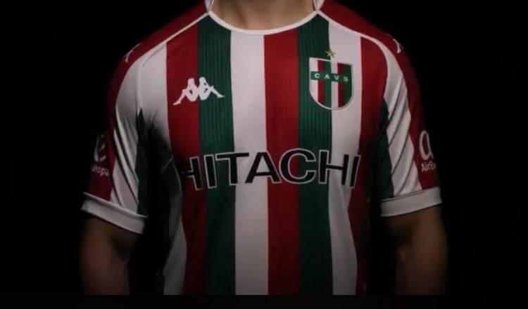 Kappa presenta la nueva camiseta Tricolor de Vélez Sarsfield