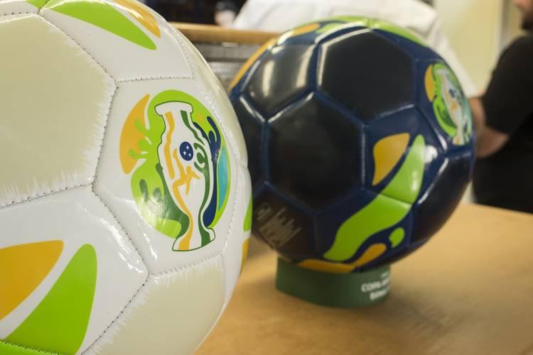 Sportcom presenta las pelotas oficiales de la Copa América Brasil 2019