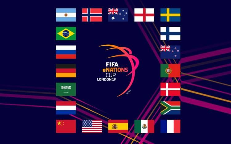 Argentina participará de la primera edición de la FIFA eNations Cup