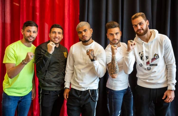 Los jugadores de Atlanta United recibieron sus anillos de campeones