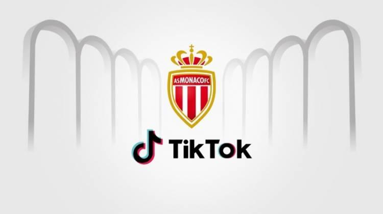 AS Mónaco llega a un acuerdo con la app TikTok