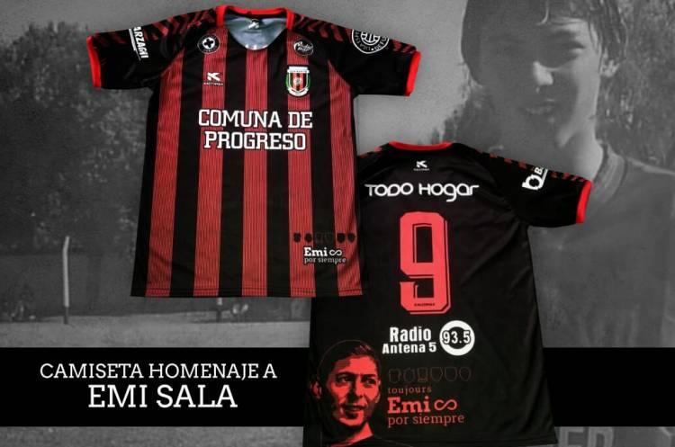 Kalcomax y San Martín de Progreso homenajean a Emiliano Sala
