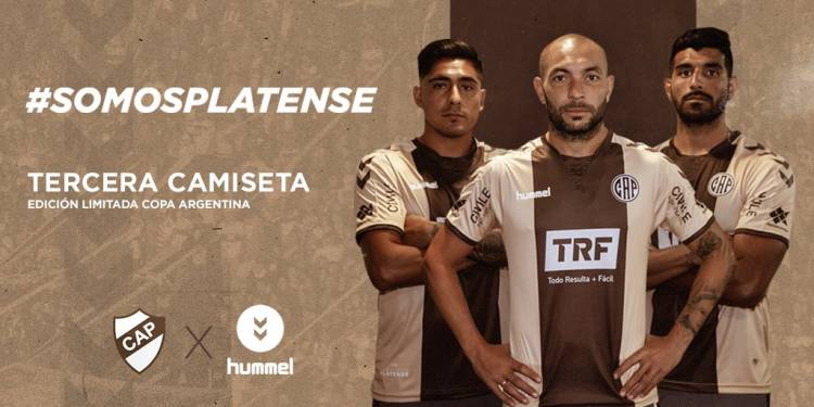 Platense lanzó su tercera camiseta para la Copa Argentina