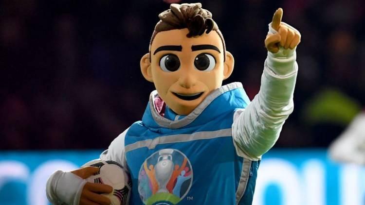 UEFA presentó la mascota oficial de la Eurocopa 2020
