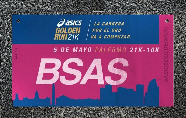 Asics Argentina presenta Golden Run, el desafió más esperado por los runners