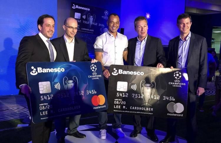 Banesco presentó la tarjeta Mastercard UEFA Champions League