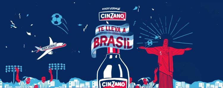 Cinzano sortea dos viajes para la Copa América 2019