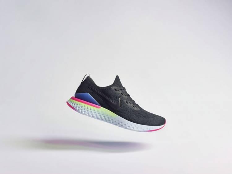 """Nike presenta su nuevo modelo de zapatillas de running """"Epic React Flyknit 2"""""""