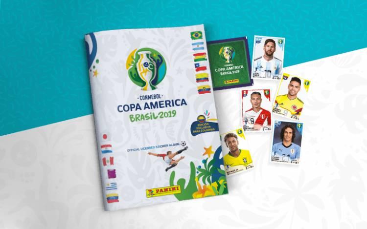Panini lanza el álbum de la Copa América Brasil 2019