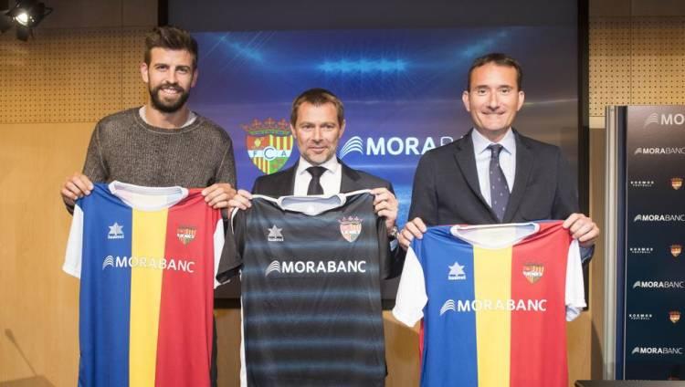 MoraBanc, nuevo main sponsor del FC Andorra de Piqué