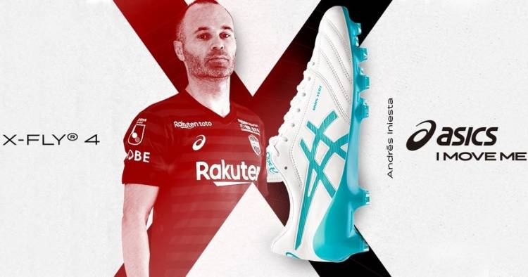 Asics launches the custom boots for Andrés Iniesta