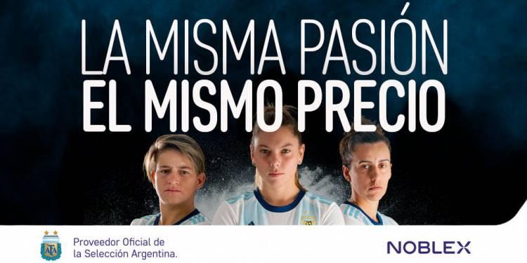 Noblex acompaña a la Selección Argentina femenina
