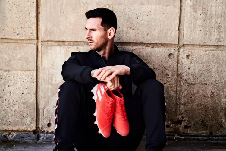 """Adidas y Messi presentan los nuevos botines """"Nemeziz 19+"""""""